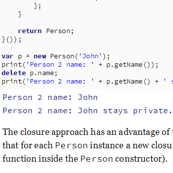 Private properties in JavaScript — Curiosity driven